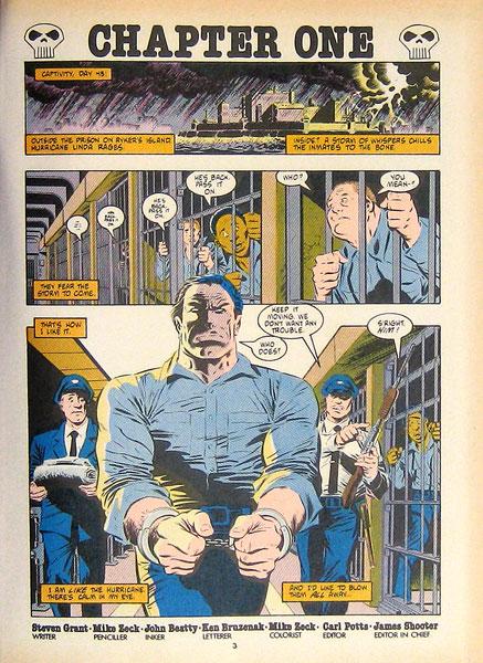 Resultado de imagem para MIke Zeck Punisher circle of Blood