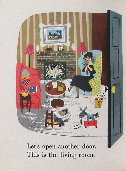 Children S Books Baby S House A Little Golden Book