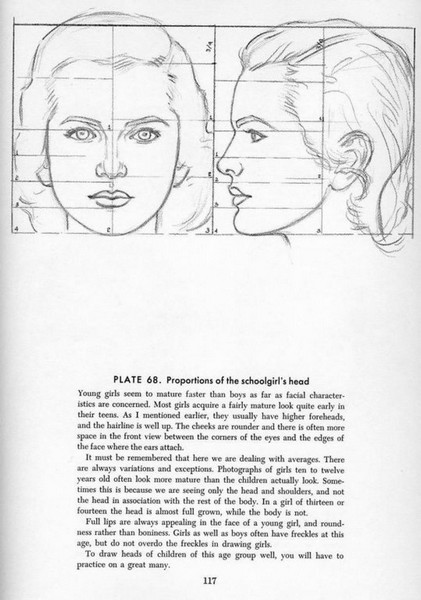 Art Instruction Drawing The Head And Hands
