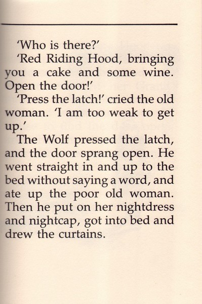 a comparison of charles perrualt and the grimms brothers little red riding hood These are 25 dark and disturbing original versions of children's  into these 25 dark and disturbing original versions of children  little red riding hood.