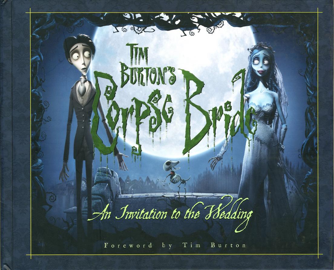 The Corpse Bride - An Invitation to The Wedding. The Corpse Bride Art Book  | Books.