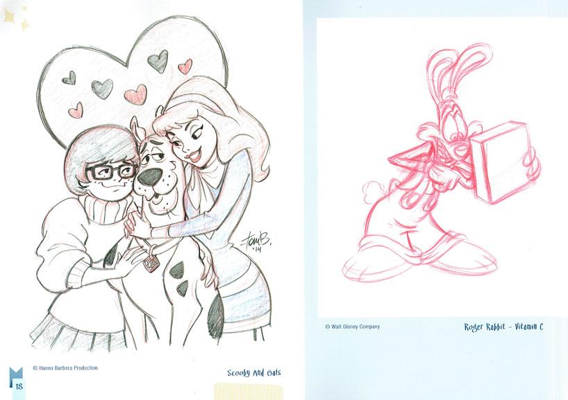 Tom Bancroft Character Design Book : Artists a z tom bancroft character designer animator