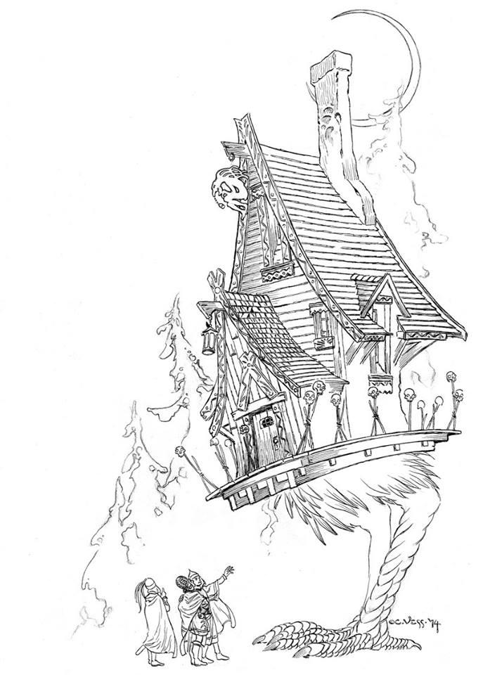 Sketchbooks A Charles Vess Coloring Book Signed