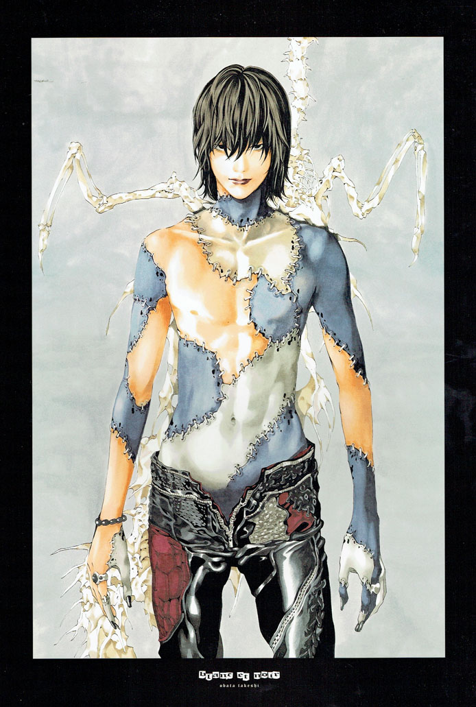 White and gold blanc et noir takeshi obata illustrations - Dressing noir et blanc ...