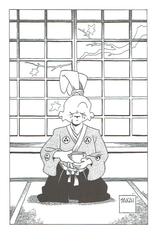 Sketchbooks Usagi Yojimbo Coloring Book Signed By The