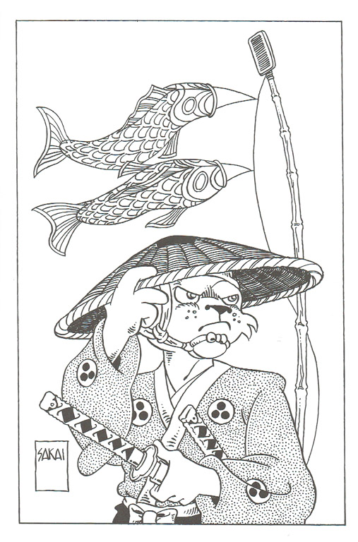 Sketchbooks Usagi Yojimbo Coloring Book