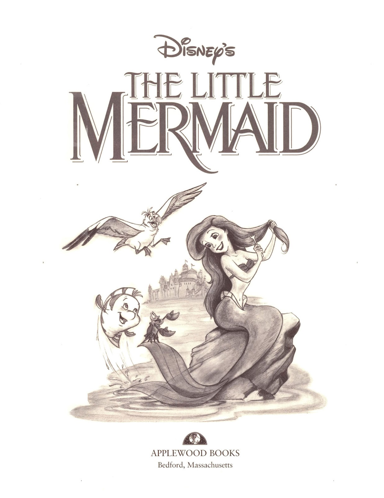 The Little Mermaid Book Pdf