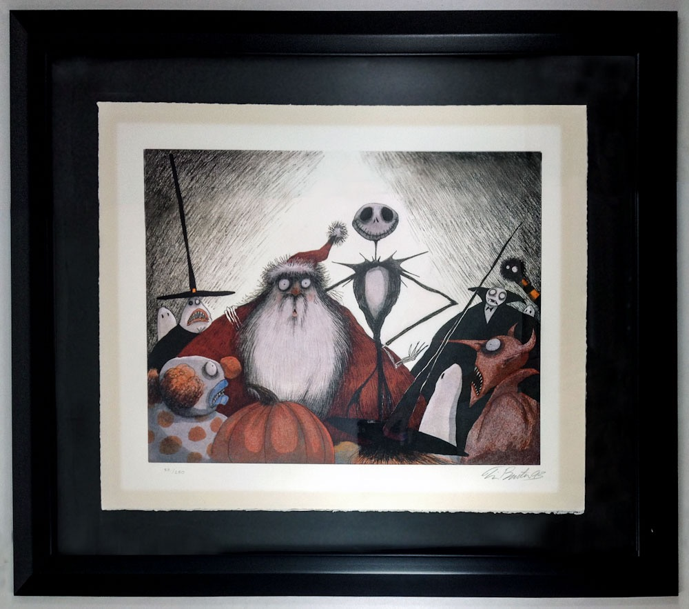New Arrivals :: Tim Burton Nightmare Before Christmas - Signed ...