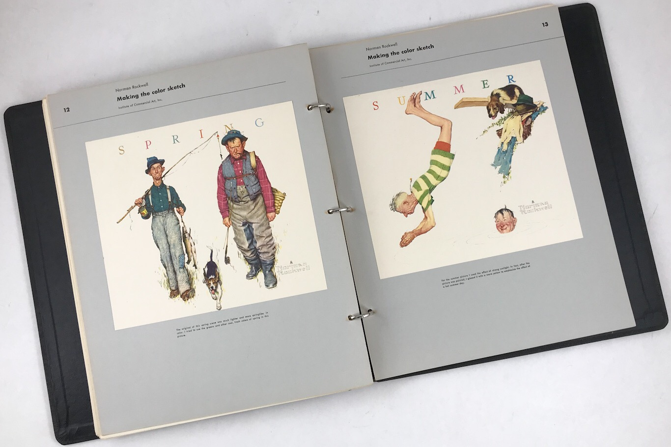 New Arrivals :: How I Make A Picture by Norman Rockwell - Famous