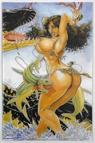 Black nude cave women Comic Sequential Art Mature Budd Root S Cavewoman Cavewoman Killing Dinos 101 Budd Root Special Edition Nude