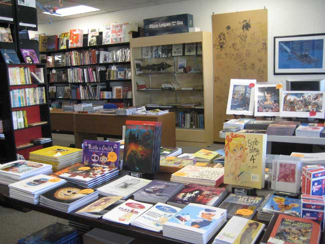 Stuart Ng Books Showroom