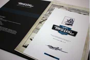 Neal Adams' ThrillKill: Artist's Edition Portfolio