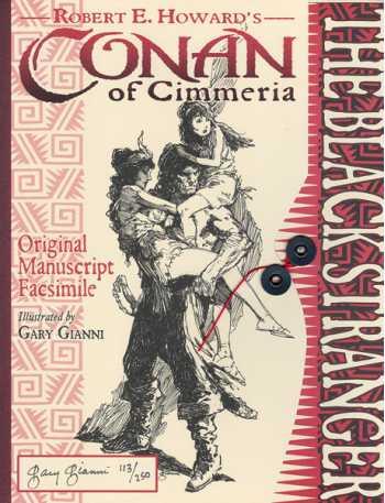 The Black Stranger, Original Manuscript Facsimile
