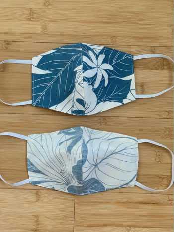Lanai Blue Face Mask