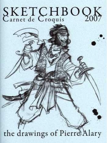 Pierre Alary Sketchbook 2007
