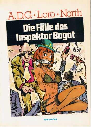 Die Falle des Inspector Bogat