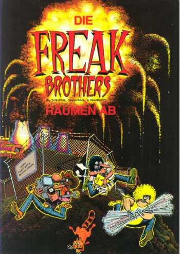 Die Freak Brothers Raumen Ab